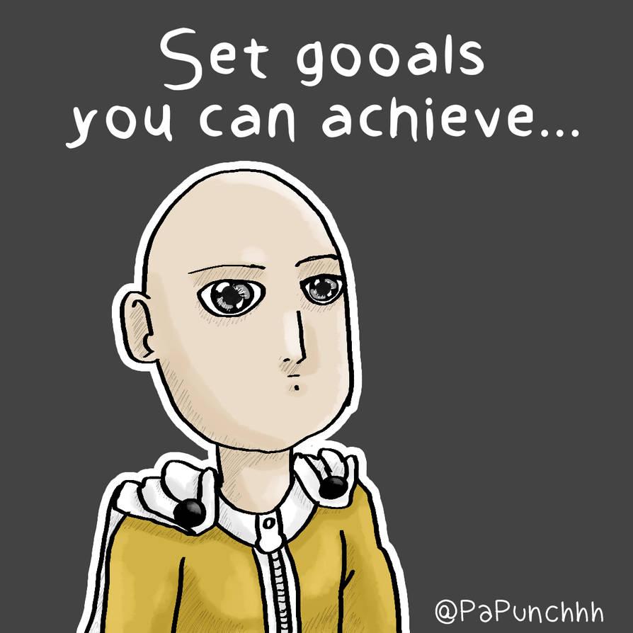 Set Goals You Can Achieve by fargokraft