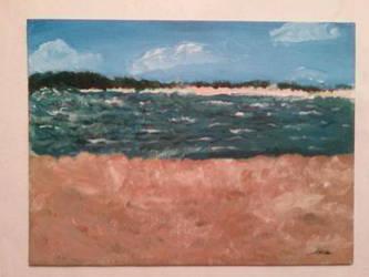 Sunset Beach, the Hamptons by taliatheotaku