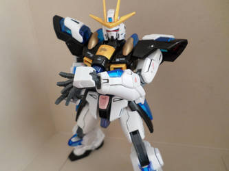 HG 1/144 Try Burning Gundam - Custom Colors - 5 by chronosaluke