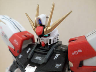HG 1/144 Star Build Strike - Custom Colors - 2 by chronosaluke