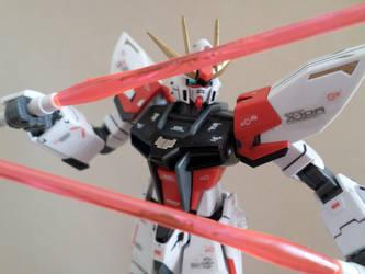 HG 1/144 Star Build Strike - Custom Colors - 3 by chronosaluke