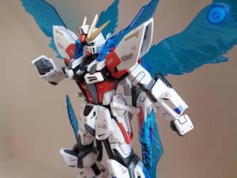 HG 1/144 Star Build Strike - Custom Colors - 4 by chronosaluke