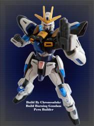 HG Build Burning Gundam - GBFT - Custom color by chronosaluke