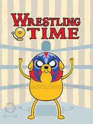 Wrestling jake by craneo242