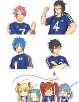 Team Japan by blanania