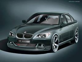 BMW e60 - tuning kit by Rykunov