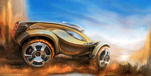 SUV concept by Rykunov