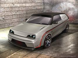 Lada Sport Prototype by Rykunov