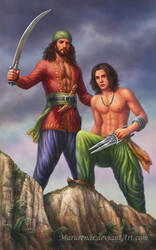 Commission: Saif and Kilig by marurenai