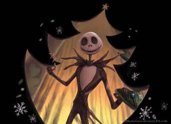 The Nightmare Before Christmas by marurenai