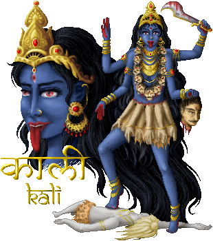 .the Great Kali. by puppetka