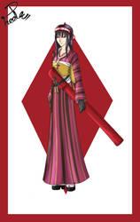 CM - OC Akane in Kimono for NovaHeroi by Shin--chan