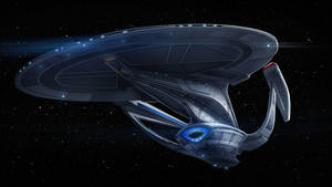Phase 2 galaxy class dreadnought by fastleppard
