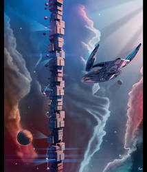 Phase 2 galaxy class dreadnought - The Tower by fastleppard