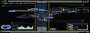 U.S.S Typhoon - phase 2 galaxy class by fastleppard