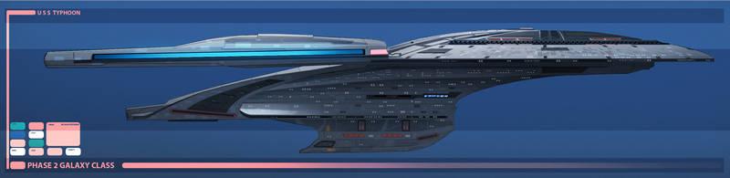 USS Typhoon by fastleppard