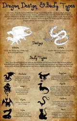 Dragon Designs and Body Types by Twisted--Princess