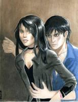Rashel and Quinn by lallychan