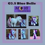 G 3.5 Blue Belle by NichiTsukinoko