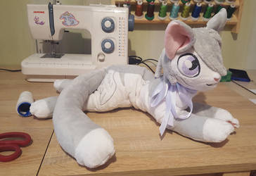kitty plushie by zukori