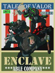 Tales of Valor: Enclave Able Company by AlexZebol