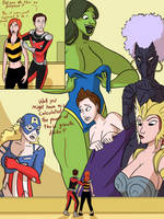 Giant Avengers: Small prank, big results by MisterBigRed