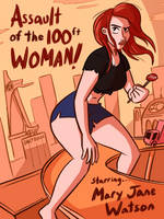 Giant Mary Jane: Now that is a lot of woman by MisterBigRed