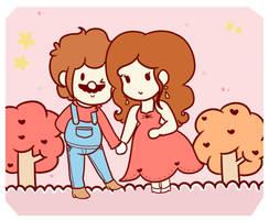.:[AT]: Mario x Pauline:. by ActualOnodera