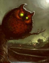 Owl Demon by ScottPurdy