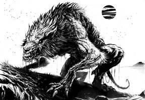 Werewolf by ScottPurdy