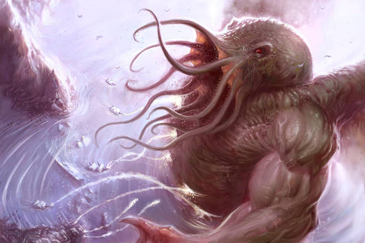 Old Cults - Cthulhu by ScottPurdy