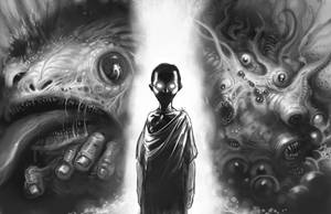World War Cthulhu - The God In The Wood by ScottPurdy