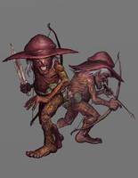The One Ring RPG - Oak Men by ScottPurdy
