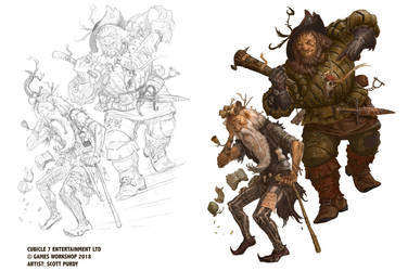 Warhammer Fantasy Roleplay - Protagonist by ScottPurdy