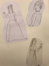 More random sketches! by SpiritWolf3639