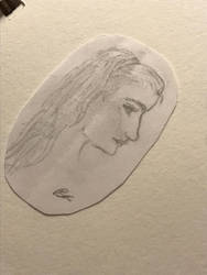 Itty Bitty Portrait by SpiritWolf3639