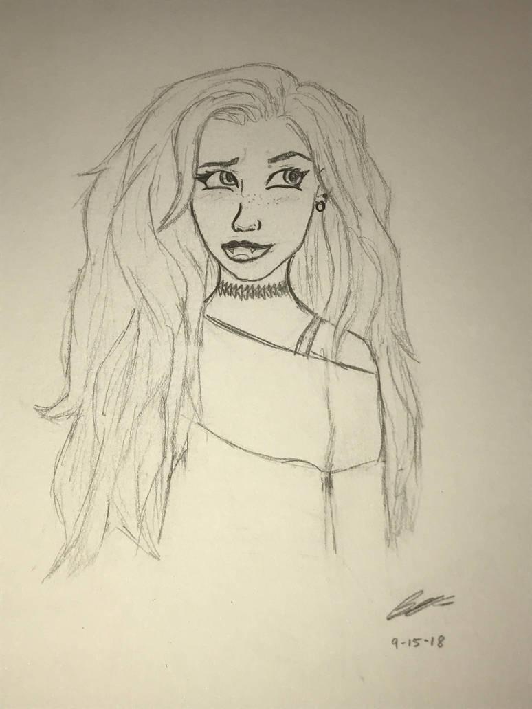 Cartoon style practice! by SpiritWolf3639