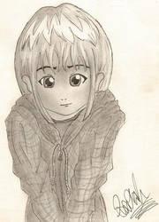 A little girl by Jewl242