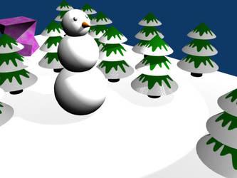 Snowman by lovelyHanibal