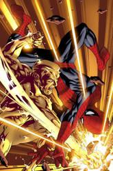 Amazing Spiderman Cover by antoniofabela
