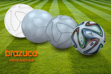 Brazuca ball by Genieto