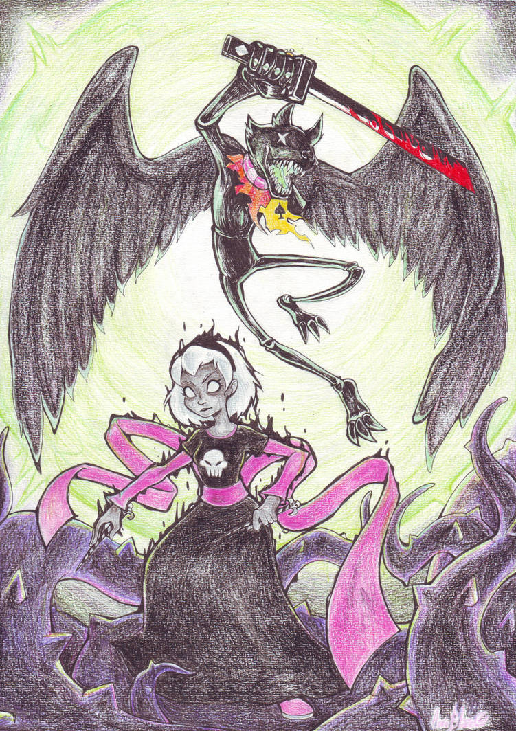 HS Black Rose,Green Sun and the Slayer by Auroblaze