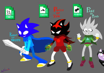 SONICSTUCK: Knight,Prince and Page by Auroblaze