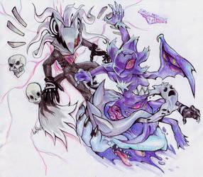 SKULLMOBIANS: Enter Infinite by Auroblaze