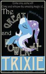 Trixie Poster by LtGIR