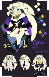 2018  New Ref Cyrus the hedgehog by DtwsdARTneo