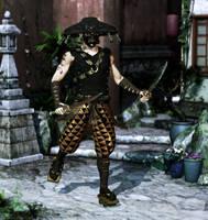 Immortal Ronin - Black Gold by parrotdolphin