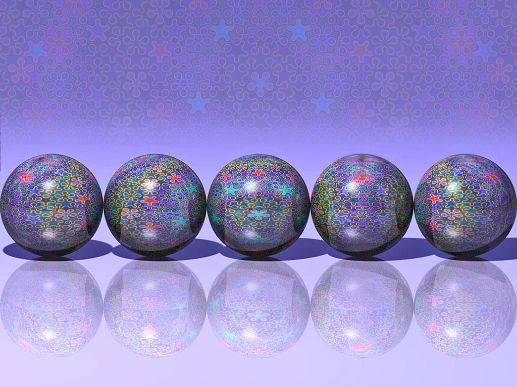 Penrose Tiled Spheres by parrotdolphin