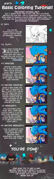 Basic Coloring tutorial by Gigi-D