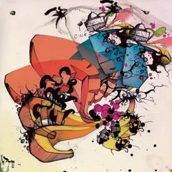 multicolor fun swirl by bryant
